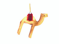 Camel w/Red Saddle Ornament