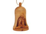 Bethlehem Bell 3-D Ornament