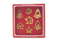 Christmas Eve Collection - 7 Ornament Set - Boxed
