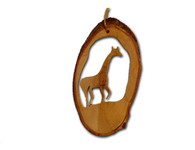 Olive Wood Ornament - Giraffe