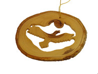 Olive Wood Ornament - Eagle