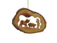 Olive Wood The Shepherd Boy Ornament