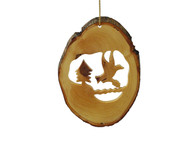 Olive Wood Noah's Dove Ornament.