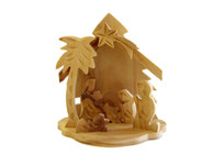 Olive Wood Christmas Tree Nativity ™ (3.5 inches in Height)