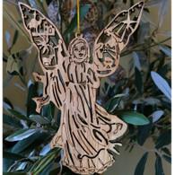 Olive Wood Nativity Angel