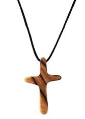 Olive Wood Cross Pendant. (2 inches Height) WA-36