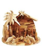 Bethlehem Olive Wood Nativity Set