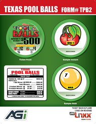 TPB2 Texas Pool Balls