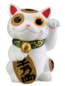 This gorgeous Maneki Neko Money Lucky Cat Chinese Japanese Statue Figure Collectible has the finest details and highest quality you will find anywhere.