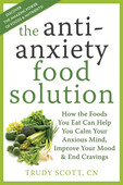 The Antianxiety Food Solution by Trudy Scott fills an important gap in the popular literature on anxiety. It provides clear, helpful guidelines for utilizing nutrition to overcome anxiety.