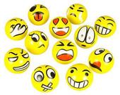 Emoji face stress balls