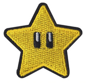 Mario Star Video Game Patch