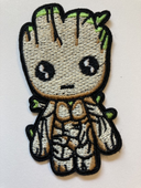 Cute Patch Baby Groot GOTG Embroidered Iron Sew On Applique Patch