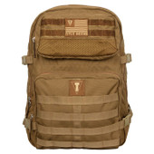TITLE Boxing Tactical Combat Backpack (Brown)