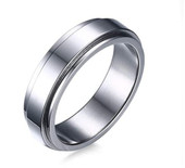 Stainless Steel Spinner Ring For Men Fidget