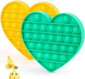 Pop It Fidget Toy Silicone Push Pop Bubble Fidget Sensory Toy