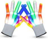 LED Light Up Gloves Party