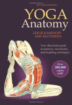 Yoga Anatomy-2nd Edition Paperback.