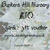 £10 Bunkers Hill Gift Voucher