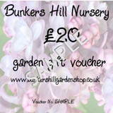 £20 Bunkers Hill Gift Voucher