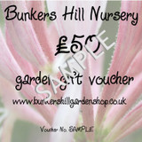 £50 Bunkers Hill Gift Voucher