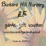 £5 Bunkers Hill Gift Voucher