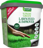 Empathy SUPREME GREEN lawn feed & improver - 4.5kg