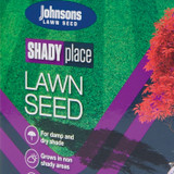 Johnsons 'Shady Place' lawn seed - 500g (for 20sq m)