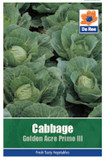 Cabbage 'Golden Acre Primo' Seeds
