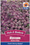 Alyssum 'Rosie O'Day' Seeds