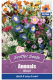 Annuals Mixed Scatter Seeds