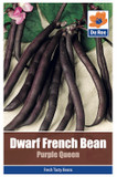 Dwarf French Bean 'Purple Queen' Seeds