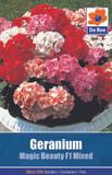 Geranium 'Magic Beauty F1 Mixed'  Seeds
