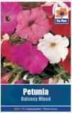 Petunia 'Balcony Mixed' Seeds