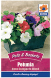 Petunia 'Nana Compacta Mixed' Seeds