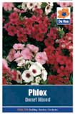 Phlox 'Dwarf Mixed' Seeds