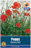 Poppy 'Shirley Red' Seeds