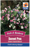 Sweet Pea 'Dwarf Cupid Mixed' Seeds