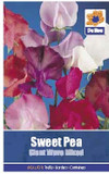 Sweet Pea 'Giant Wave Mixed' Seeds