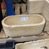 Lonstone Vintage Planters  - Small round ended planter