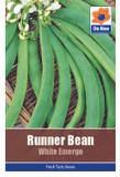 Runner Bean 'White Emergo' Seeds