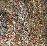 Premium wild bird seed with suet (wheat-free) - 20kg
