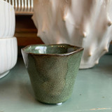 Green Glazed Small Pots