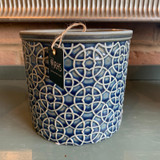 RHS Interiors -Poppy Royal Blue Cylinder