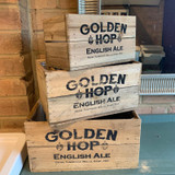 Vintage Style Beer Crate - 3 Different Sizes