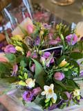 A spring bouquet - pastel colours
