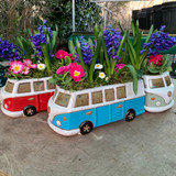 Campervan with roof garden
