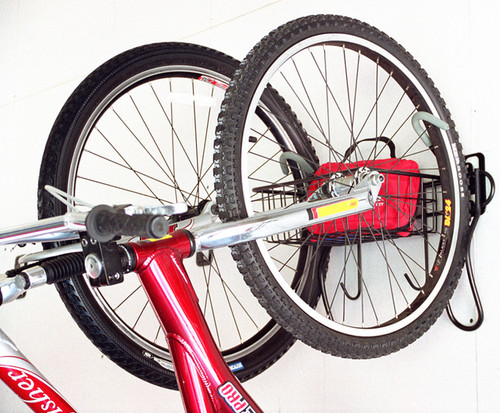 Gear Up 2 Bike Vertical Wall Mount Storage Rack