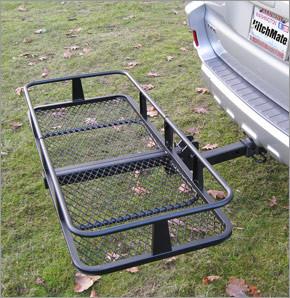 HitchMate Hitch Mounted Cargo Basket