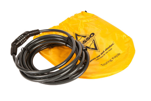Lasso Locking Cable for Recreational Kayaks